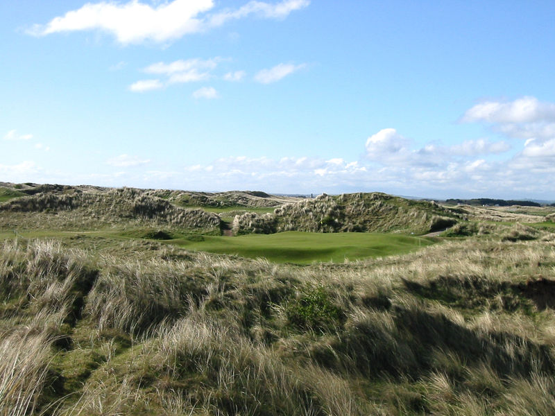 Baltray Golf Club Irish Open Venue