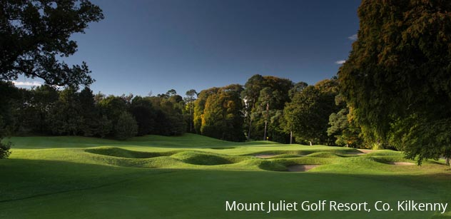 Mount Juliet golf resort co Kilkenny