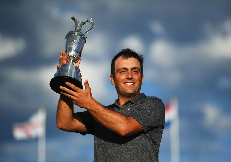 francesco molinari british open 2018 claret jug