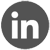 linkedin icon grey